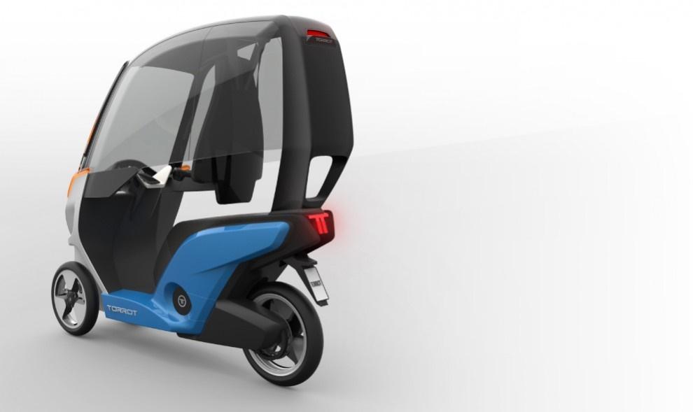 Электрический трицикл Torrot Velocipedo