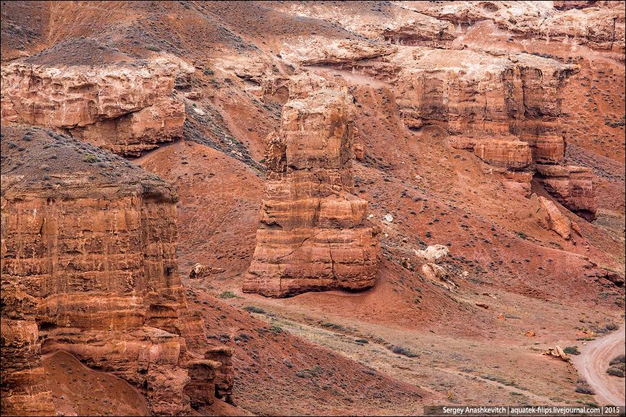 Чарынский каньон / Sharyn Canyon