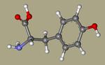 DL-Tyrosine - 556-03-6, tyrosin, H-DL-Tyr-OH, Poly-L-tyrosine, Tyrosine, DL-, L-Tryosine, CHEBI18186, 3-(4-Hydroxyphenyl)-DL-alanine, AG-F-94570-CID_1153.png