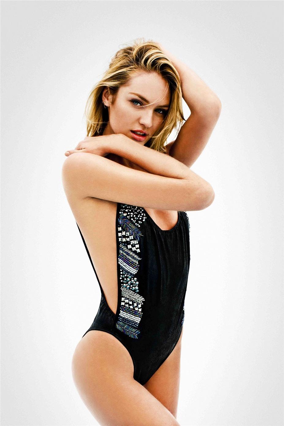 Candice Swanepoel / Кэндис Свейнпол в купальниках Agua Bendita, коллекция 2014 года