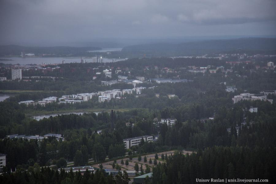 В Финляндию на машине