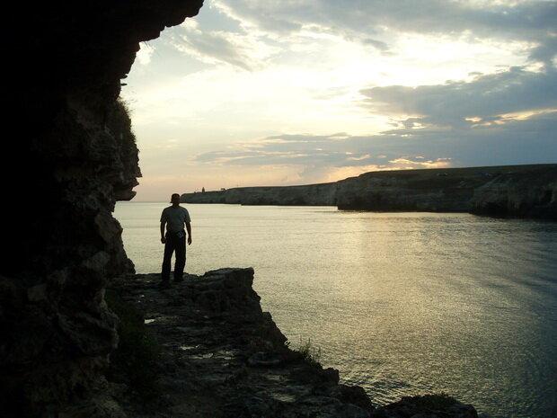 вечер на Тарханкуте