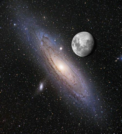 "Луна ""над"" Андромедой"