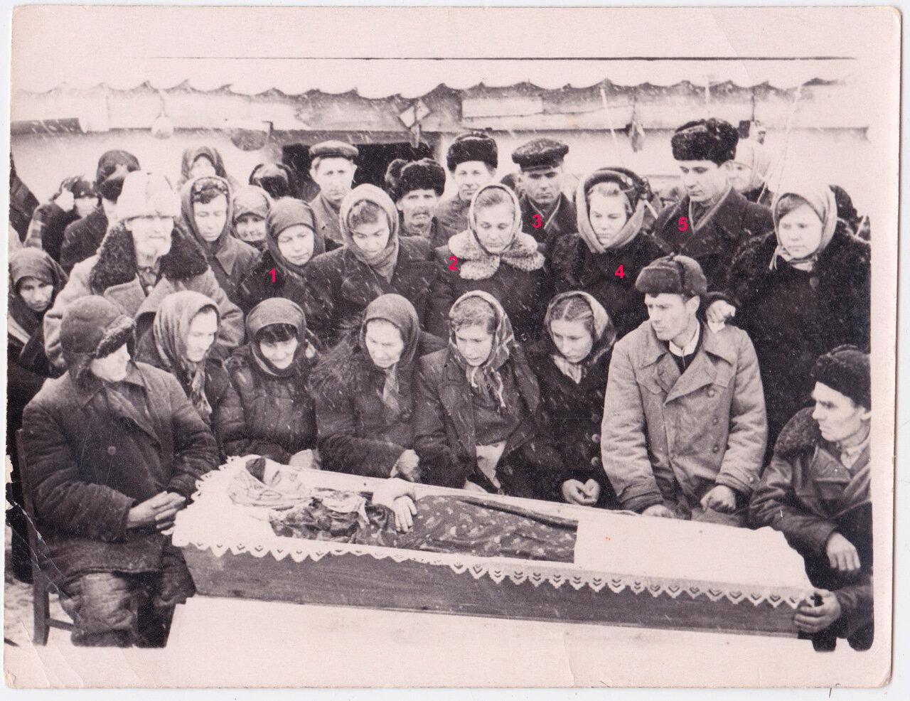 Похороны Кати Михеевой.