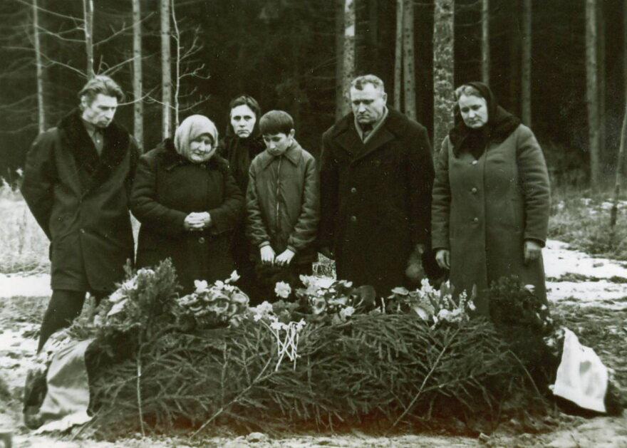 1973. Похороны Жукова М.И.