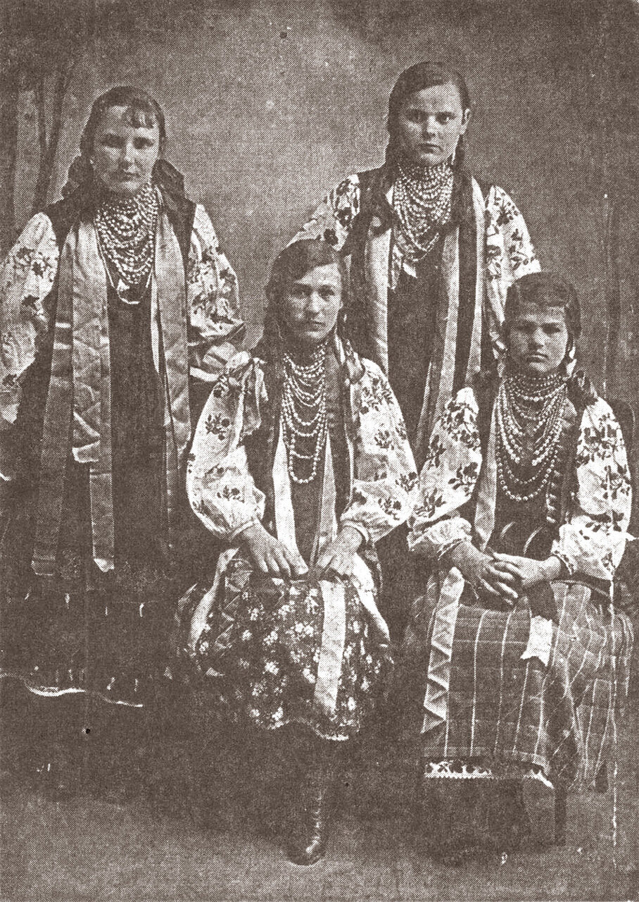 Черкасские вышивальщицы. С. Ирдинь. 1909г.