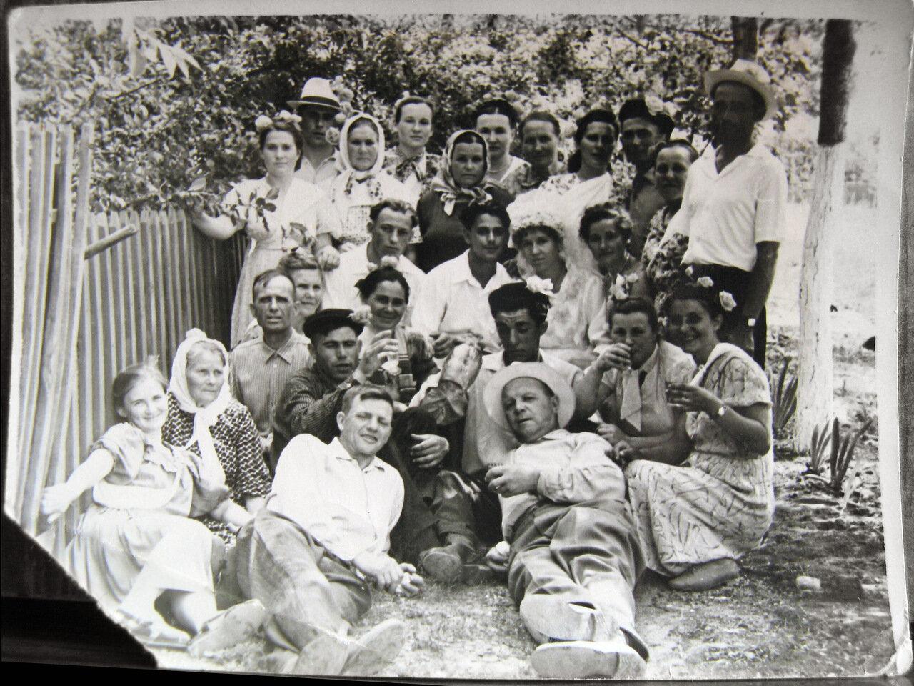 Деревенские свадьбы фото 40-х годов