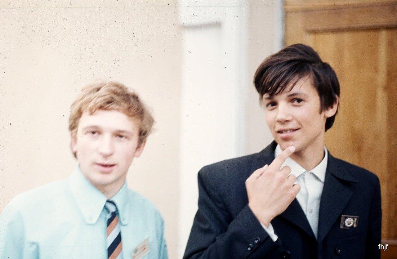 two med students at Pavlov inst