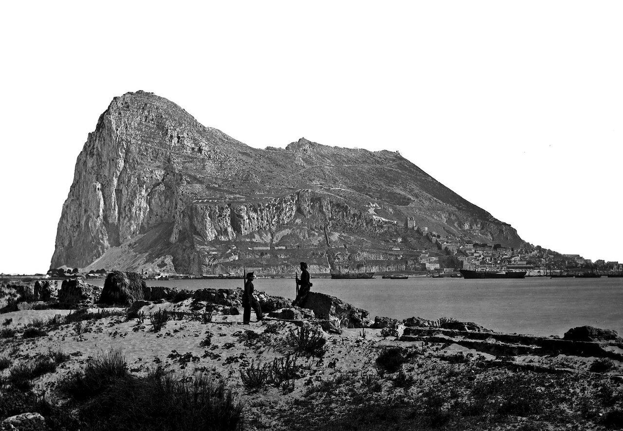 1890. Гибралтар из Сан Фелиппе