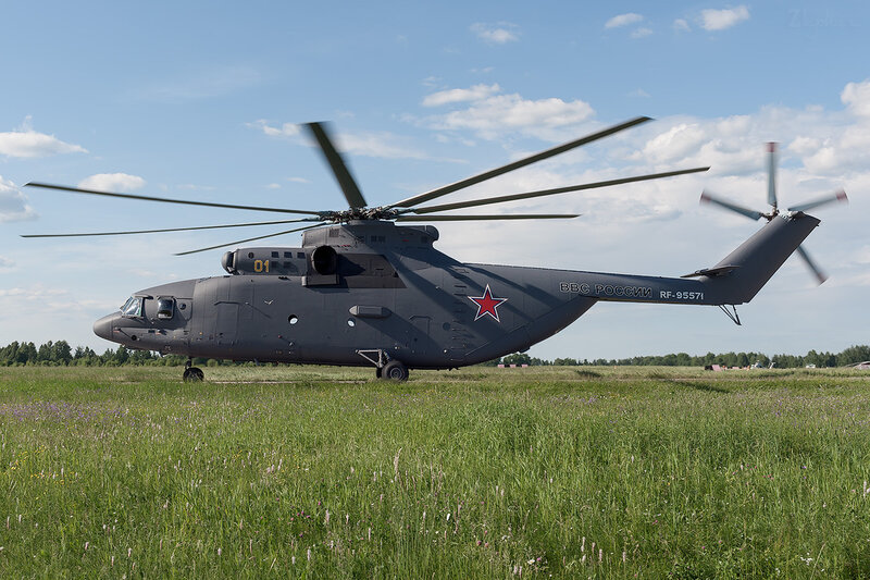 Миль Ми-26 (RF-95571 / 01 жёлтый) D706776