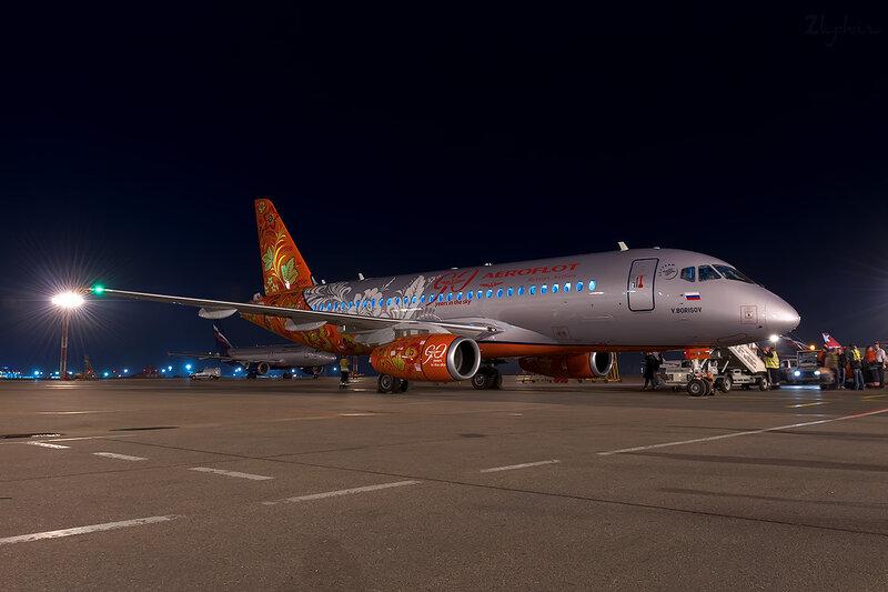 Sukhoi Superjet 100-95 (RA-89009) Аэрофлот D707158