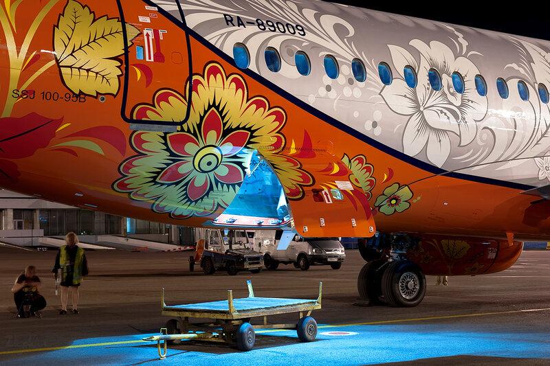 Sukhoi Superjet 100-95 (RA-89009) Аэрофлот D707204