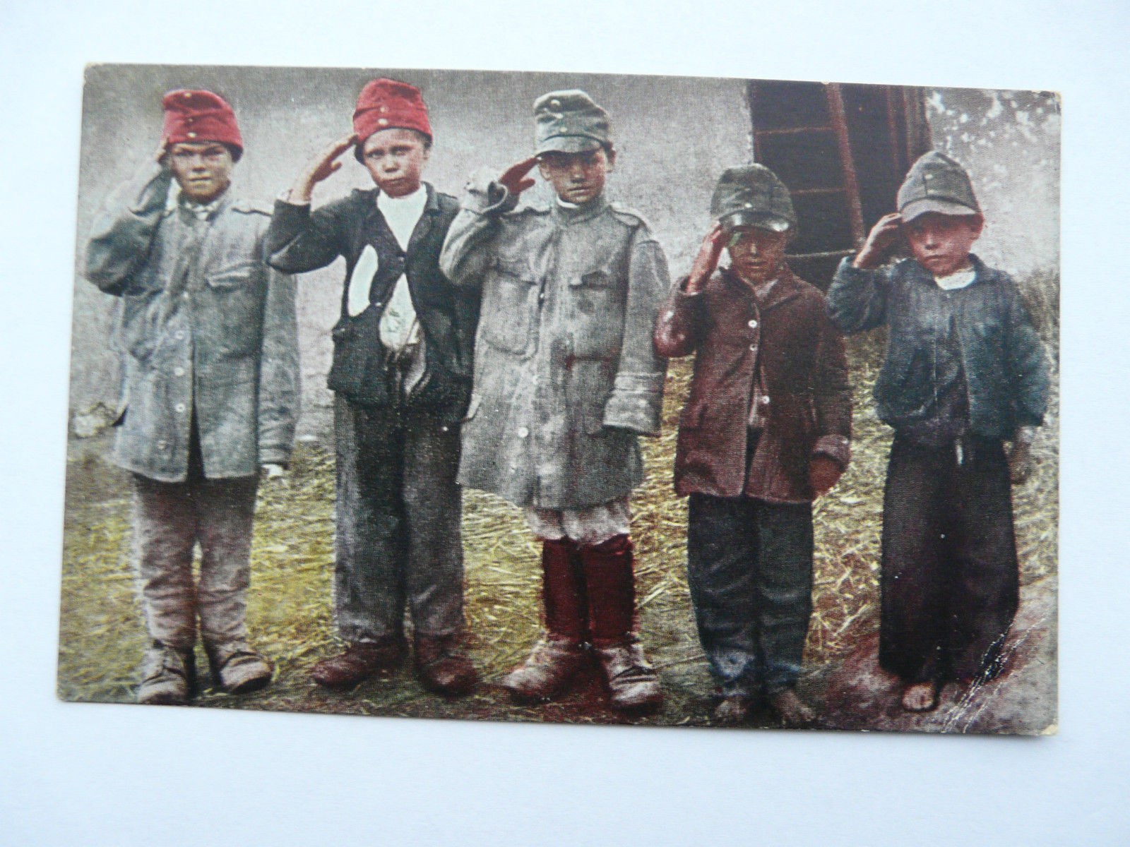 Serbian-Boys-playing-soldiers-in-Austrian-Uniforms-WW1-German.jpg