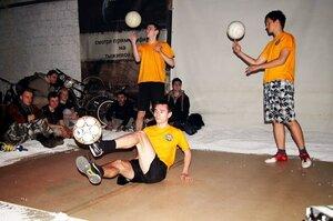 «Freestyle Football» в Бельцах привел зрителей в восторг