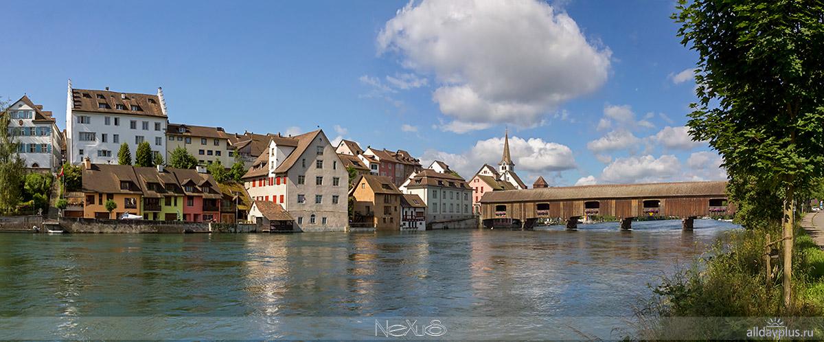 Schaffhausen и Gailingen am Hochrhein.