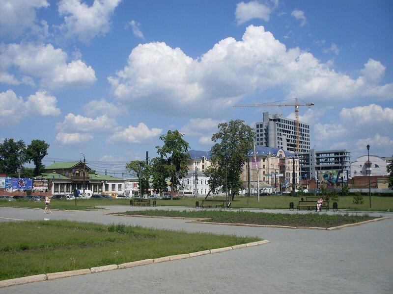 Городской пейзаж. Вид на ул.Труда.