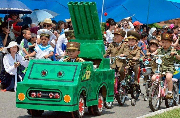 Спасибо товарищу Ким Чен Ыну за счастливое детство!