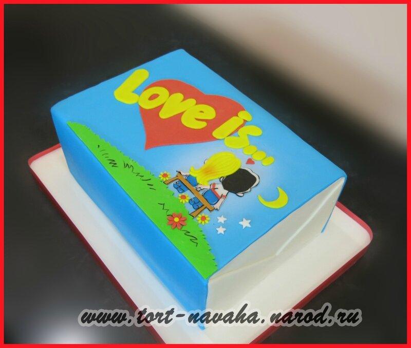 Фото тортиков love is