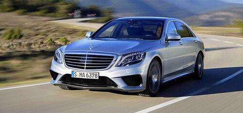 Mercedes-Benz рассекречивает новинку S63 AMG
