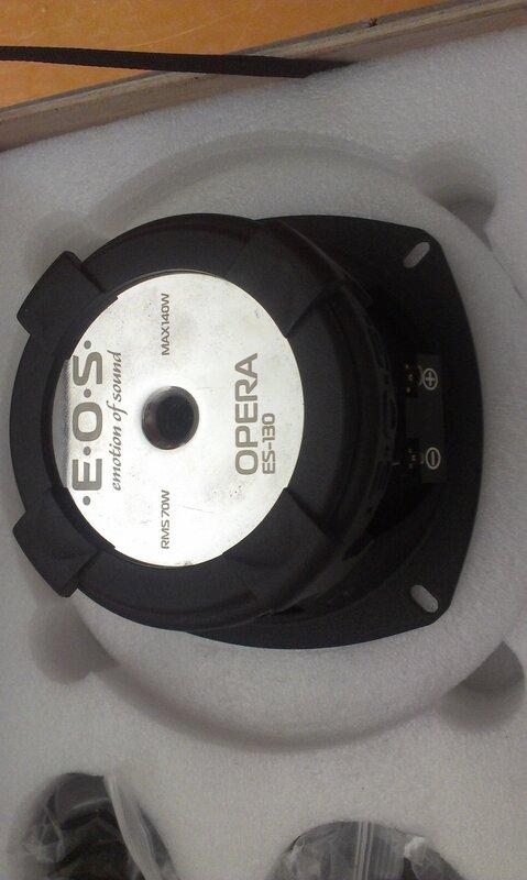 E.O.S. Opera ES-130 / Jensen Power 400.2 + активный саб