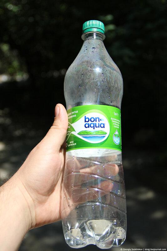 Производитель минеральной воды «БонАква» позаботились о наркоманах
