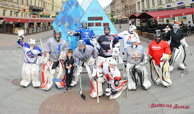 хоккейные вратари. фото