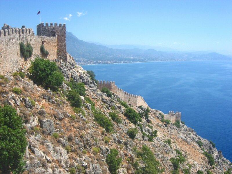 Турецкие хроники: часть 2 - Море, Достопримечательности - chronical, turkey