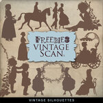Friebies Vintage silouettes