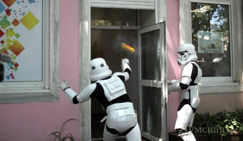 Одесская милиция разыскивает имперских штурмовиков...