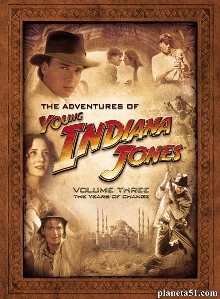 Приключения молодого Индианы Джонса / The Young Indiana Jones Chronicles [S01-03] (1992-1996) DVDRip