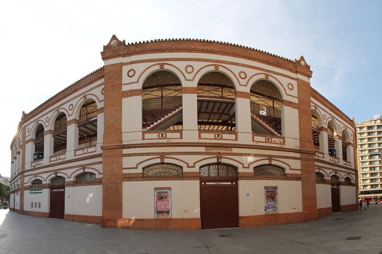 Малага. Арена для корриды Ла Малагета (Plaza de toros de La Malagueta)