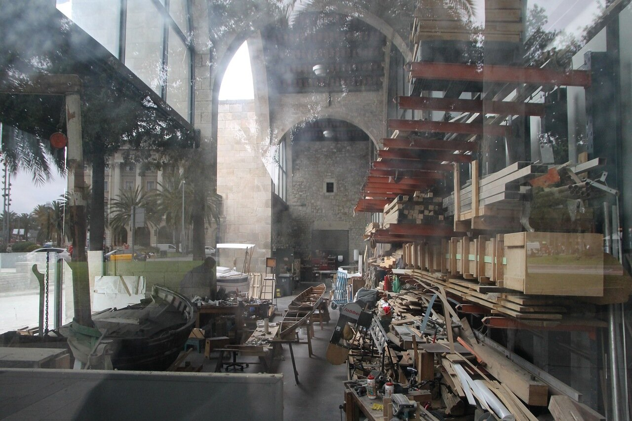 Maritime Museum of Barcelona. Workshops