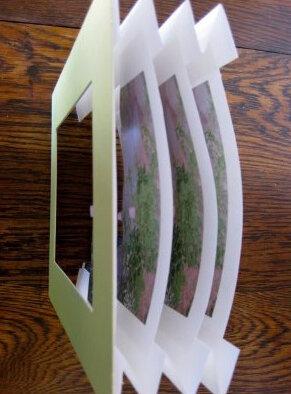 Открытка в технике Tunnel book