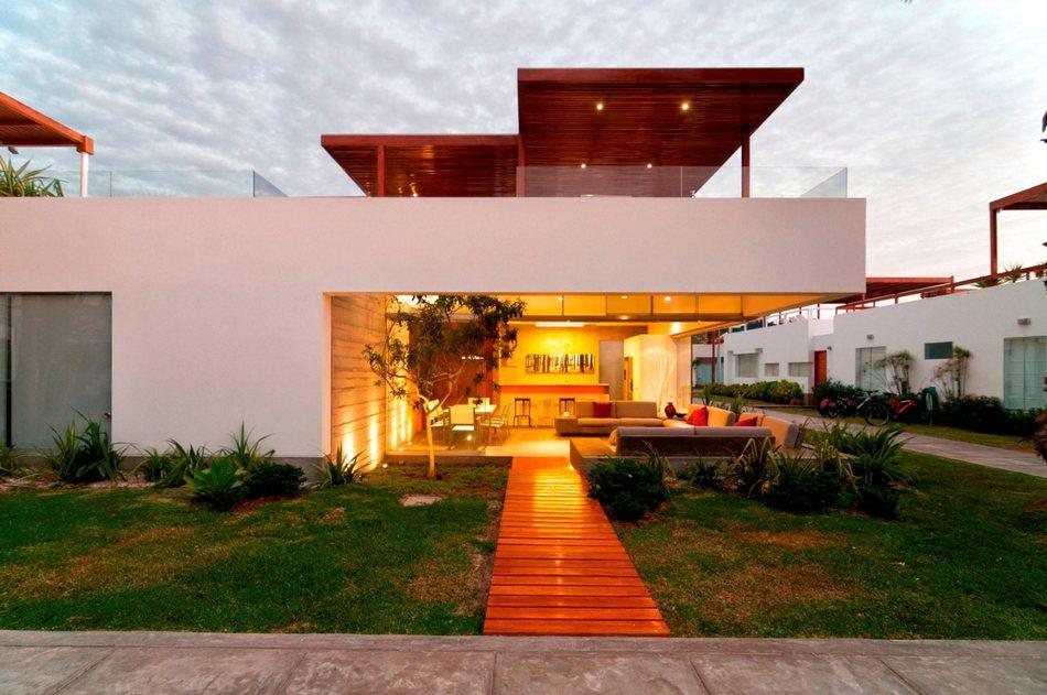 Потрясающая терраса на крыше дома Casa Seta в Перу