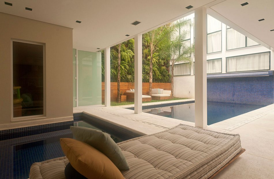 Приватная резиденция в пригороде Сан-Паулу