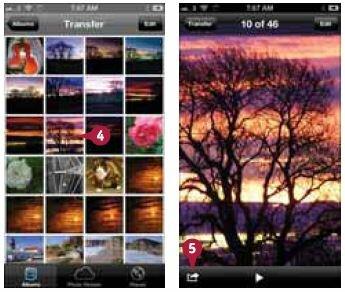 Выбор фотографии или видео