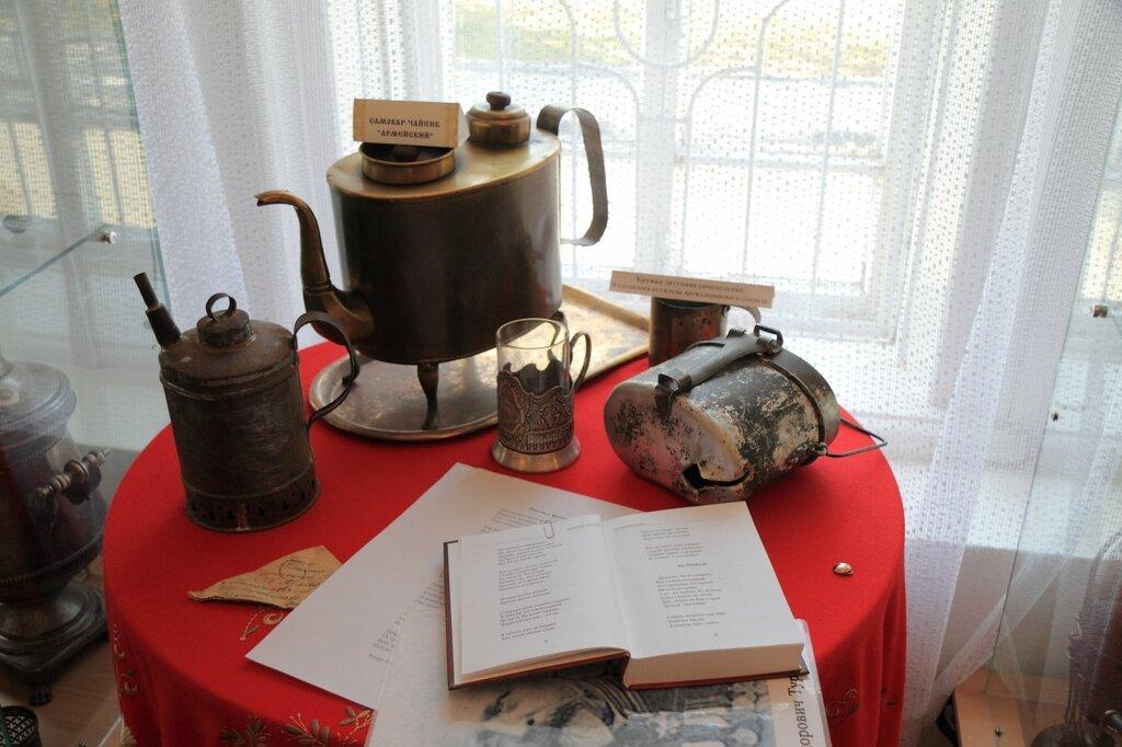 Музей самоваров, самовар-чайник и другие походные принадлежности для чая