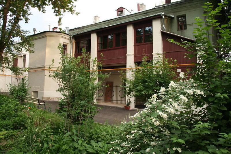 Садик во владении Ярошенко на Хитровке