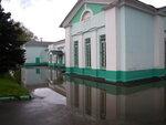 затопленный ж/д вокзал в Дорохово
