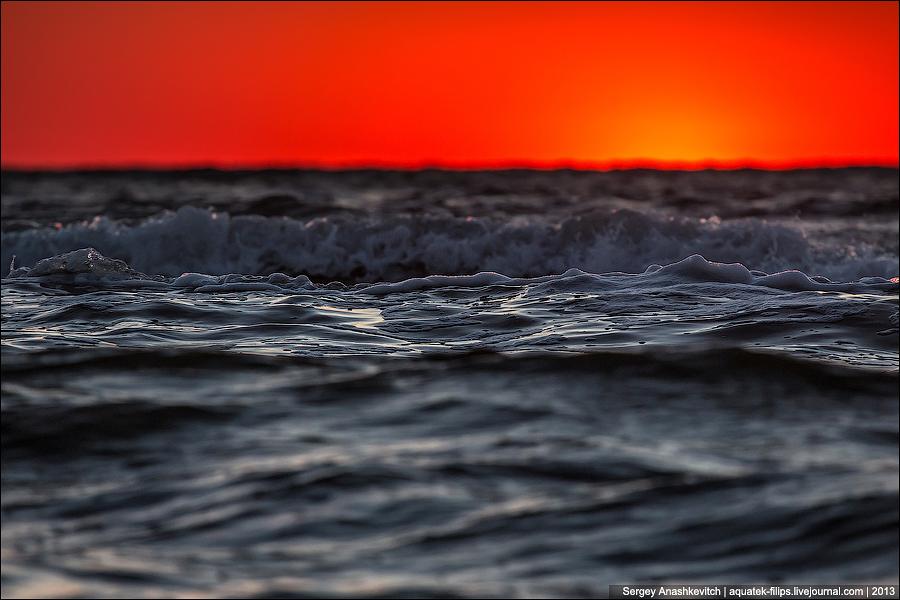 Когда море поглощает солнце