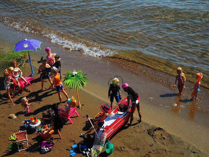Пляжные истории Барби