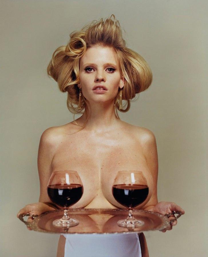 модель Lara Stone / Лара Стоун, фотограф Tyrone Lebon