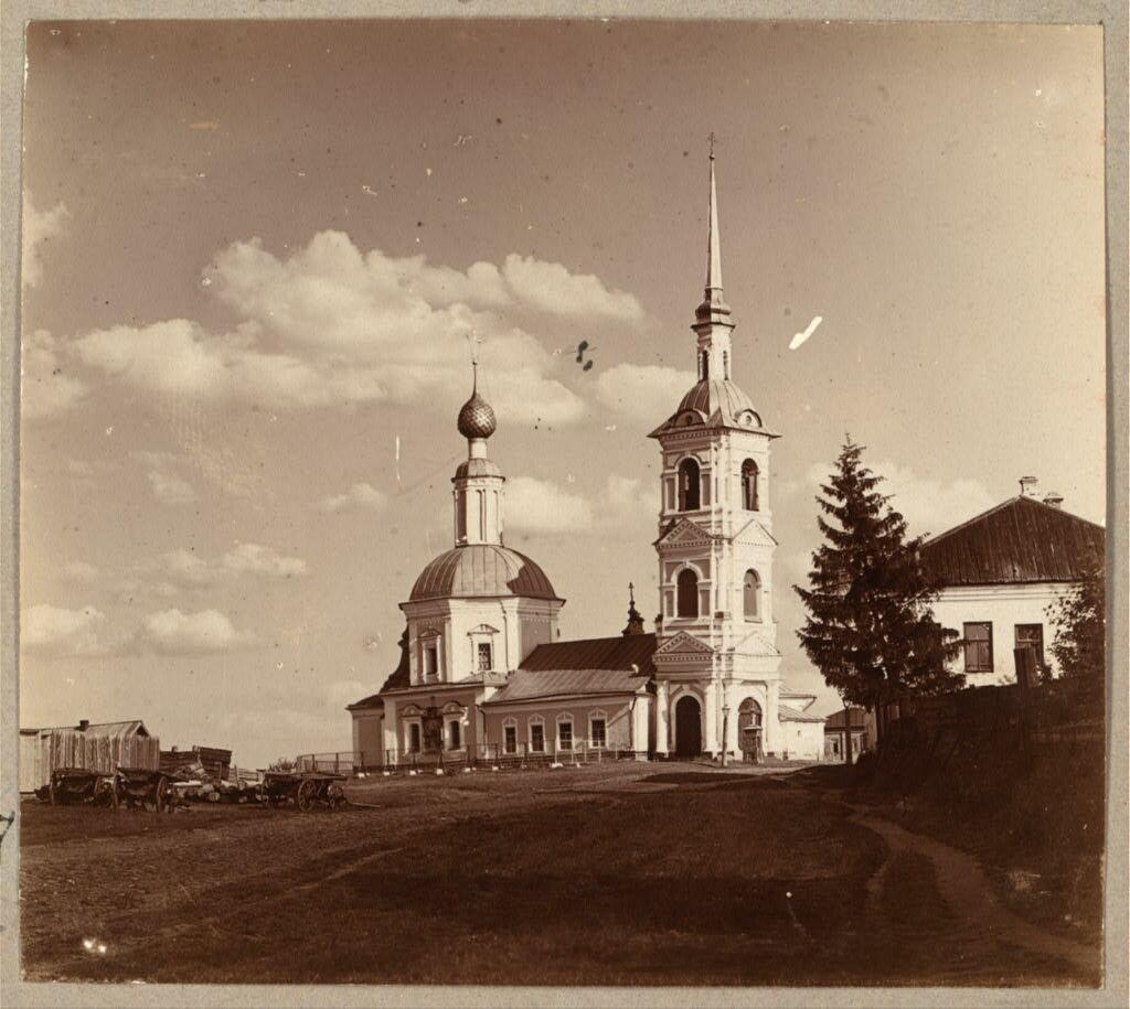 Церковь Василия Великого. Углич. 1910.