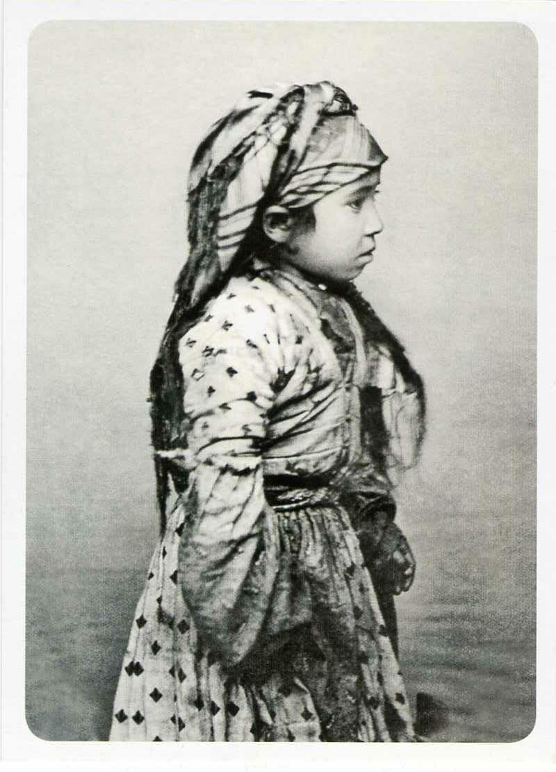 Карачаевская девочка. ХIХ век.