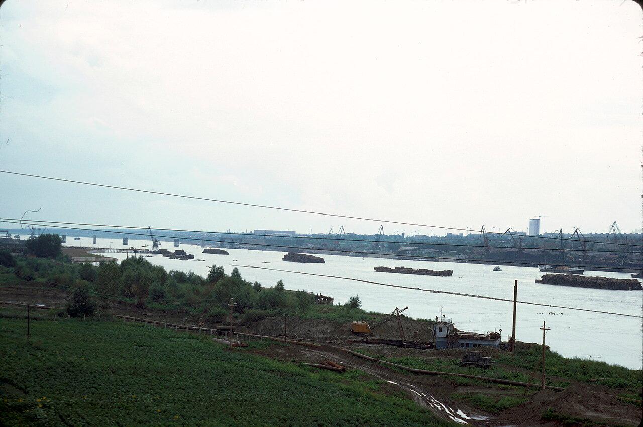 Река Обь возле Новосибирска