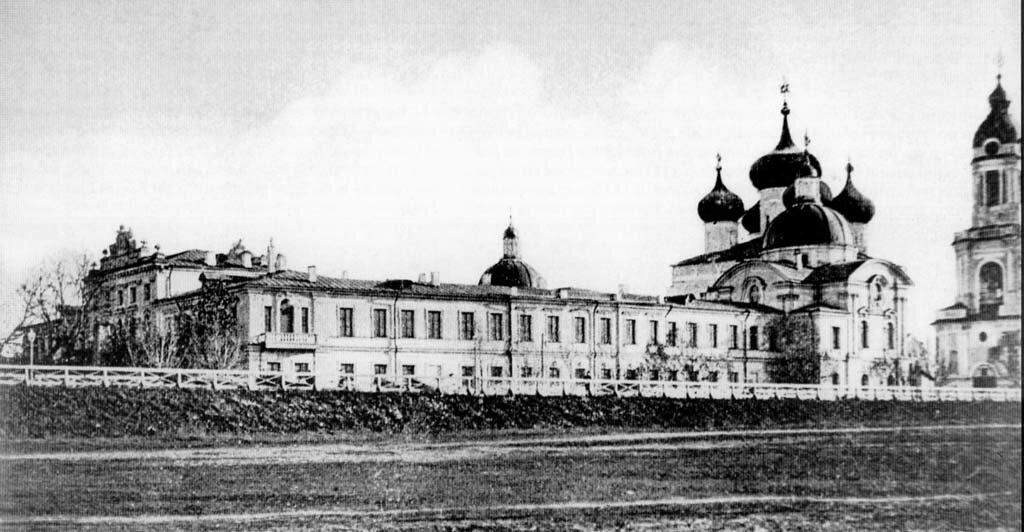 Путевой дворец, западное крыло. 1900
