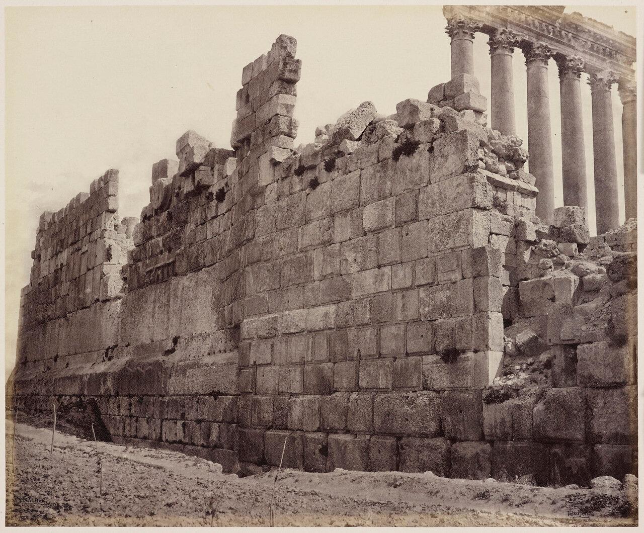 4 мая 1862. Западная стена храма, Баальбек