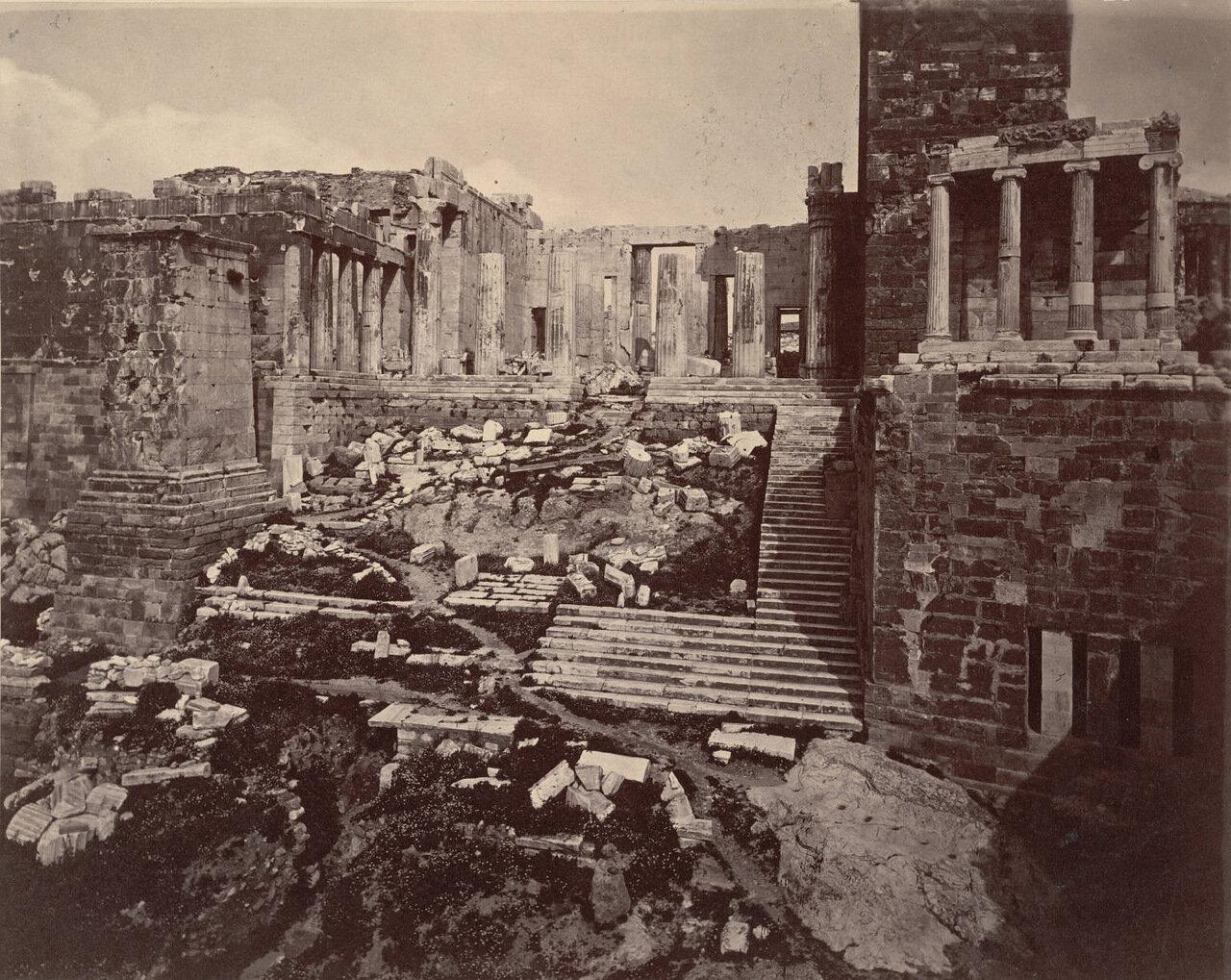 Акрополь, Пропилеи. 1869