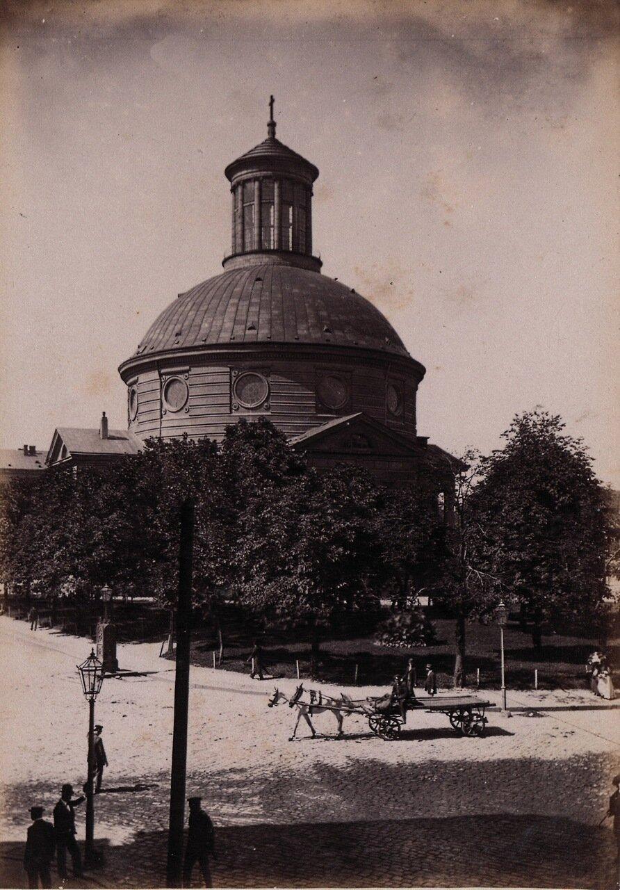Лютеранская церковь св.Троицы. 1890-е