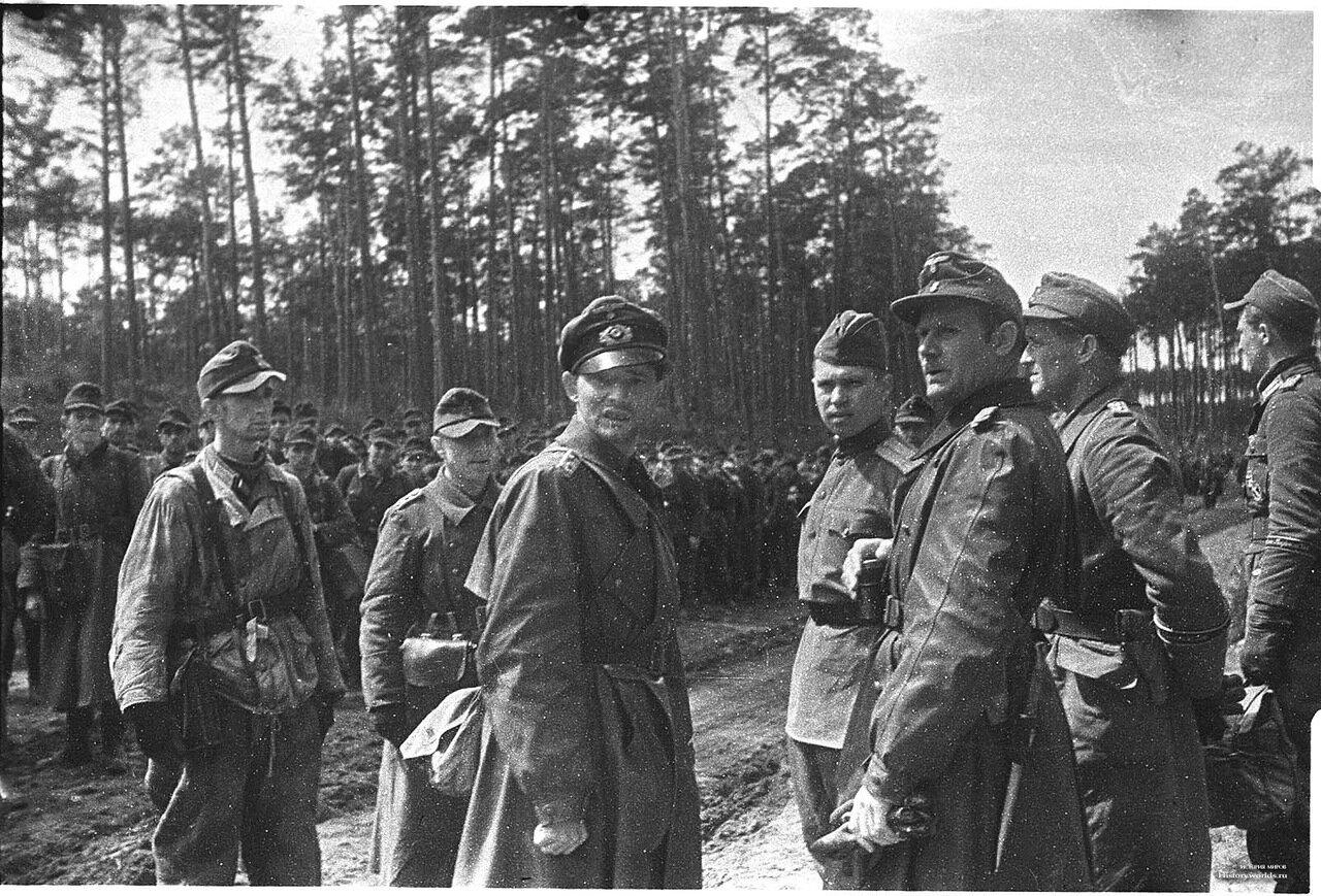 1945. Польша. Капитуляция немецких войск 9 мая